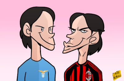 Simone and Filippo Inzaghi