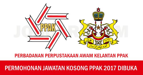 Jawatan Kosong Terkini Di Perbadanan Perpustakaan Awam Kelantan Ppak Gaji Rm1 493 00 Rm5 672 00 Jobcari Com Jawatan Kosong Terkini