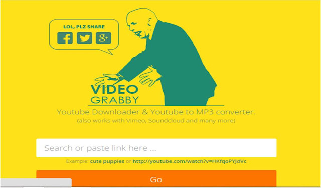 videograbby video download dan converter to mp3