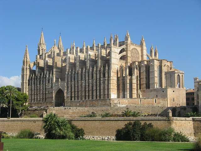 3. Gothic Cathedral in Palma