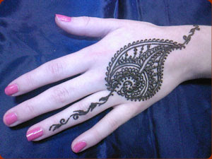 Easy Henna Designs For Hands Henna Tattoo Indian Arabic Design