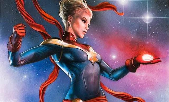 Asal-Usul Captain Marvel (Carol Danvers)