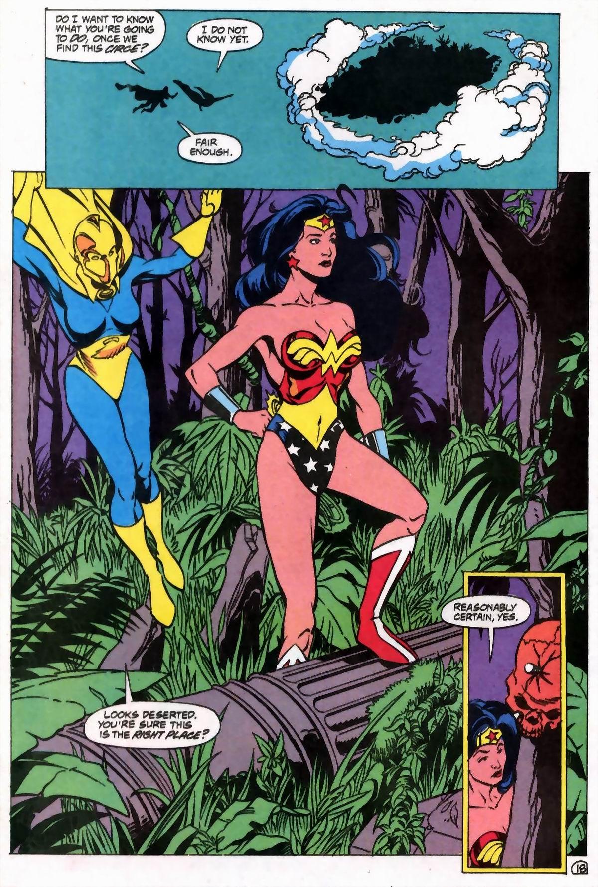 Read online Wonder Woman (1987) comic -  Issue #76 - 18