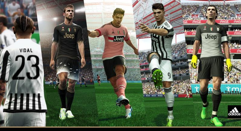 newest 8f707 fda7f PES 2013 Juventus Adidas 2015-16 Kits By Abdallah El Ghamry ...