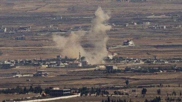 Ataque israelí de represalia en Siria