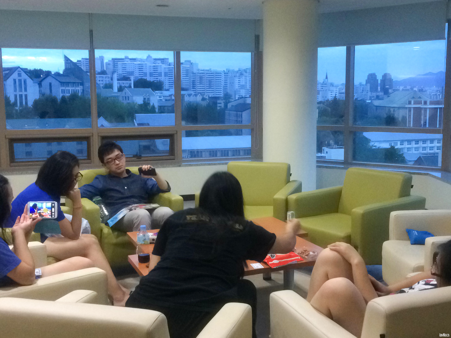 Seoul, Korea - Summer Study Abroad 2014 - SK Global House packing time and final hangout all-nighter