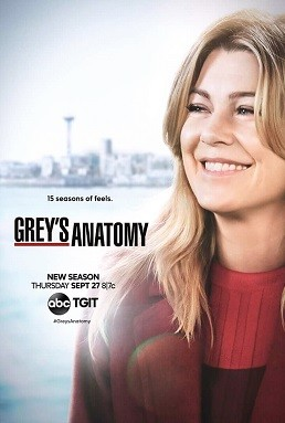 Greys Anatomy - Anatomia de Grey 15ª Temporada Completa HD Séries Torrent Download capa