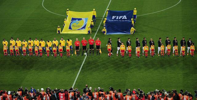 Brasil y Chile en Copa del Mundo Sudáfrica 2010, 28 de junio