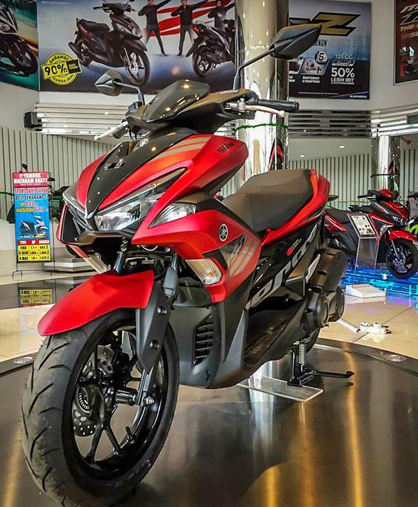 Cara dan Harga Inden Online Yamaha Aerox 155 VVA