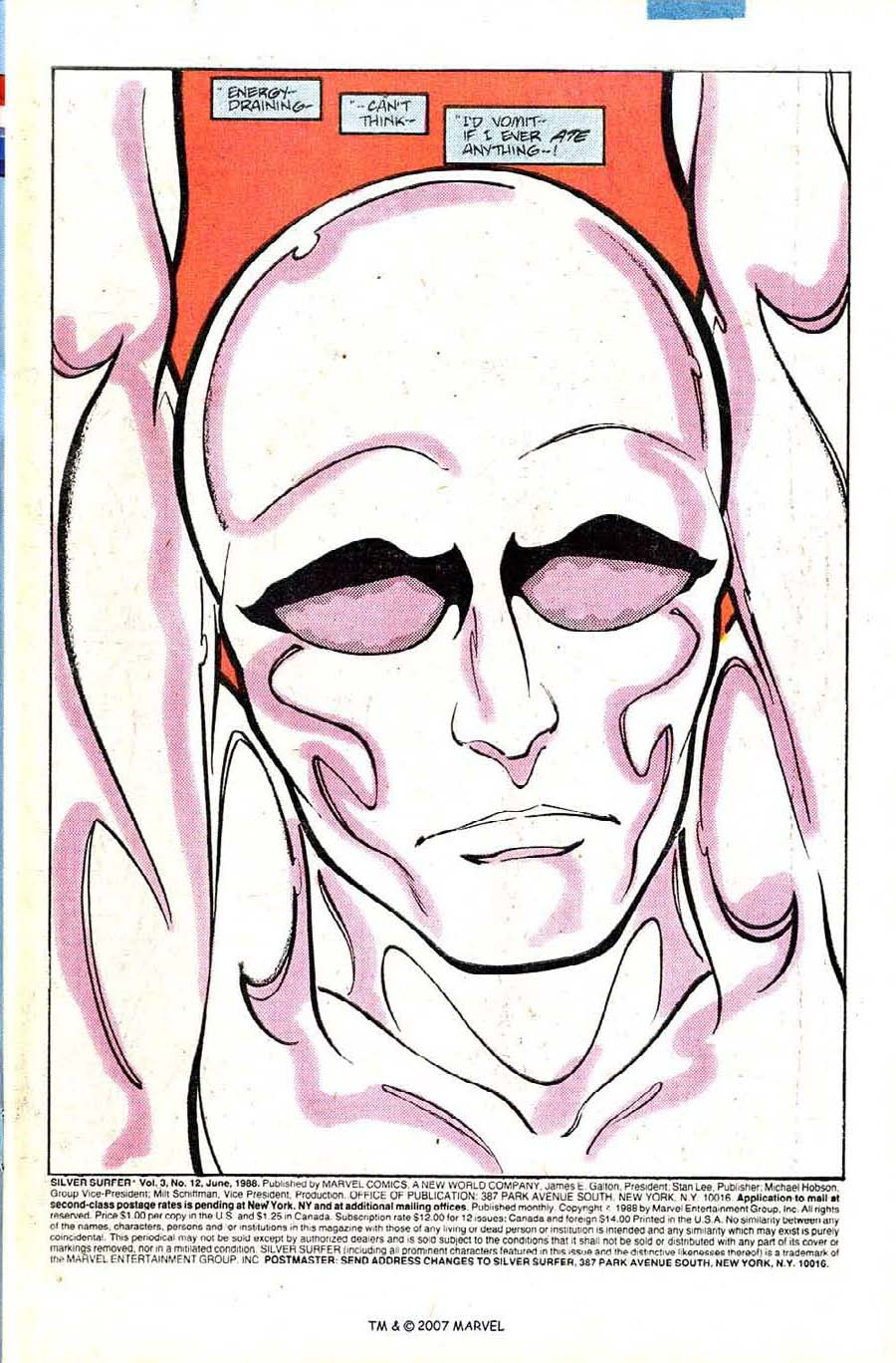Read online Silver Surfer (1987) comic -  Issue #12 - 3