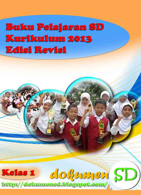 Download Buku Kurikulum 2013 Kelas 1 SD Semester Dua Revisi Tahun 2016