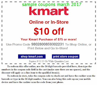 Kmart coupons march 2017