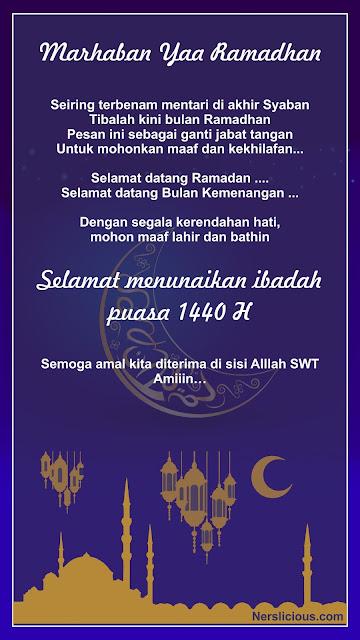 Kumpulan Ucapan Ramadhan