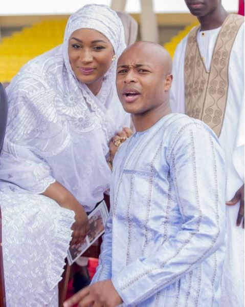 Samira Bawumia, Dede Ayew Spotted At Independence Square For Eid al-Fitr Celebration