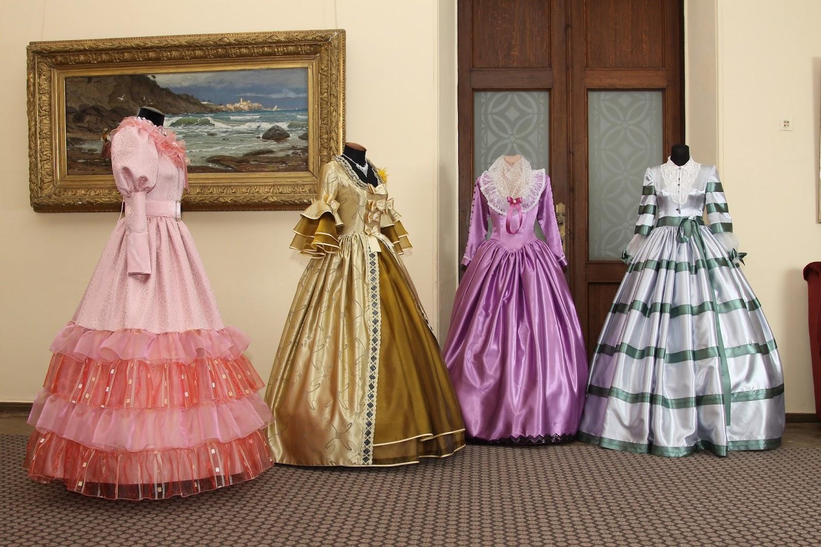 Коллекция платьев от кутюрье Марии Новиковой