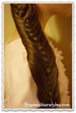 Woven Fishtail Braid Video Tutorial