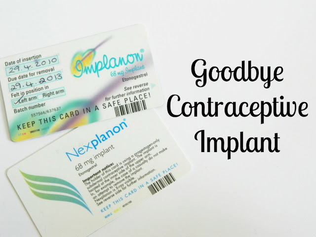 Goodbye Contraceptive Implant,