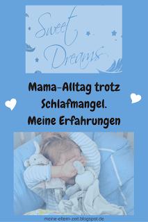 Mama-Alltag mit Schlafmangel. Meine Erfahrungen