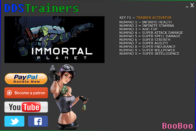 Immortal Planet Trainers and Cheats for PC