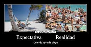 expectativa frente a realidad