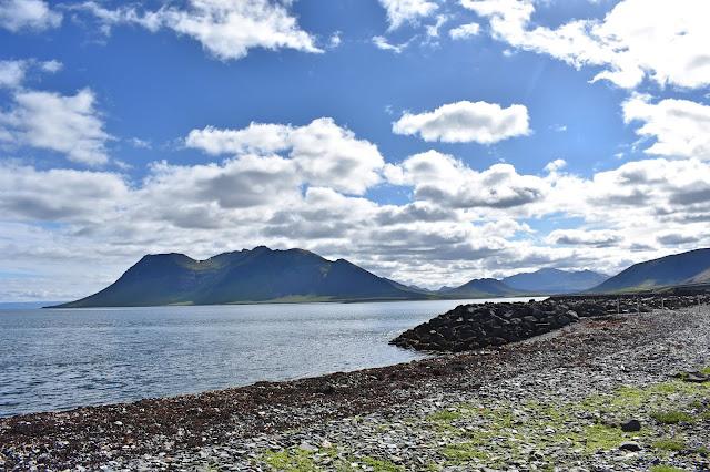 Widok na islandzkie góry