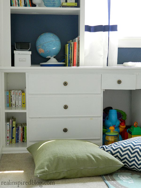 Boys' Vintage Modern Nursery Reveal and Free Printables