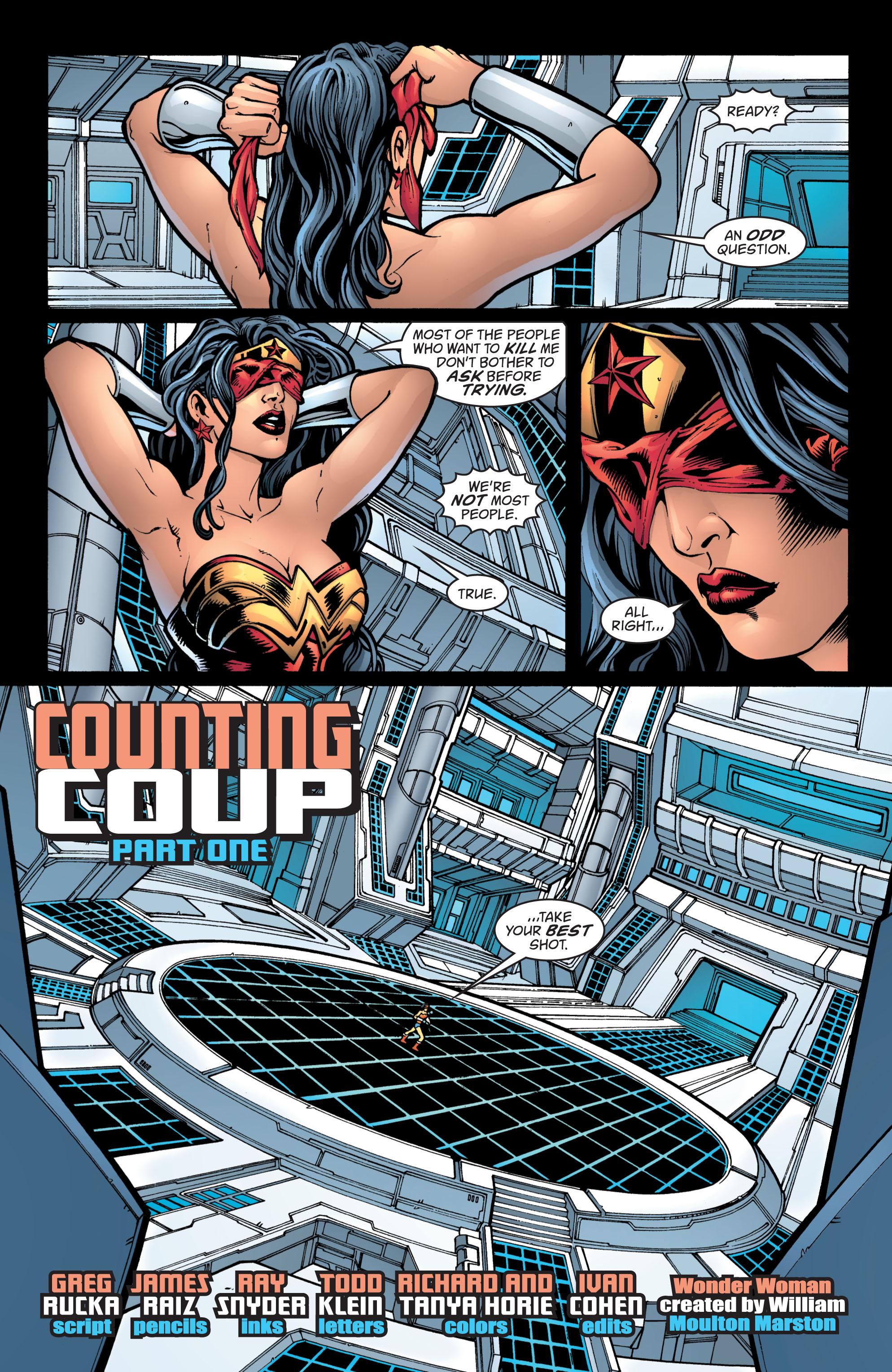 Read online Wonder Woman (1987) comic -  Issue #212 - 2