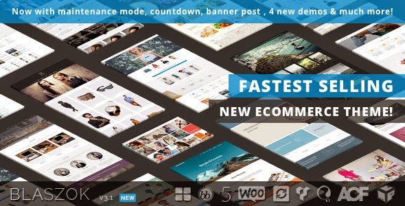 Download Free Blaszok v3.1.1 Ultimate Multi-Purpose Responsive WordPress Theme