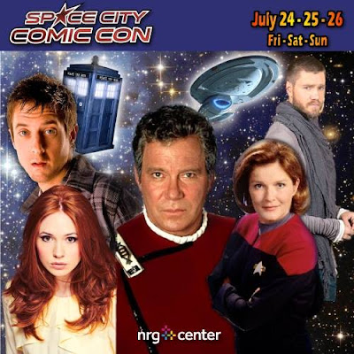 Space City Comic Con 2015 Guests