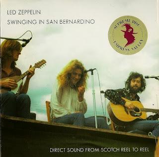 Led Zeppelin - Swing Auditorium, San Bernardino, 22 June