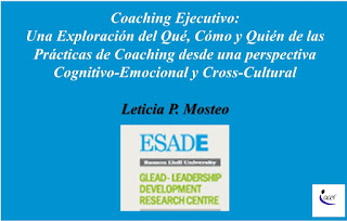 Aproximación al Coaching Educativo desde una Perspectiva Cognitivo Emocional