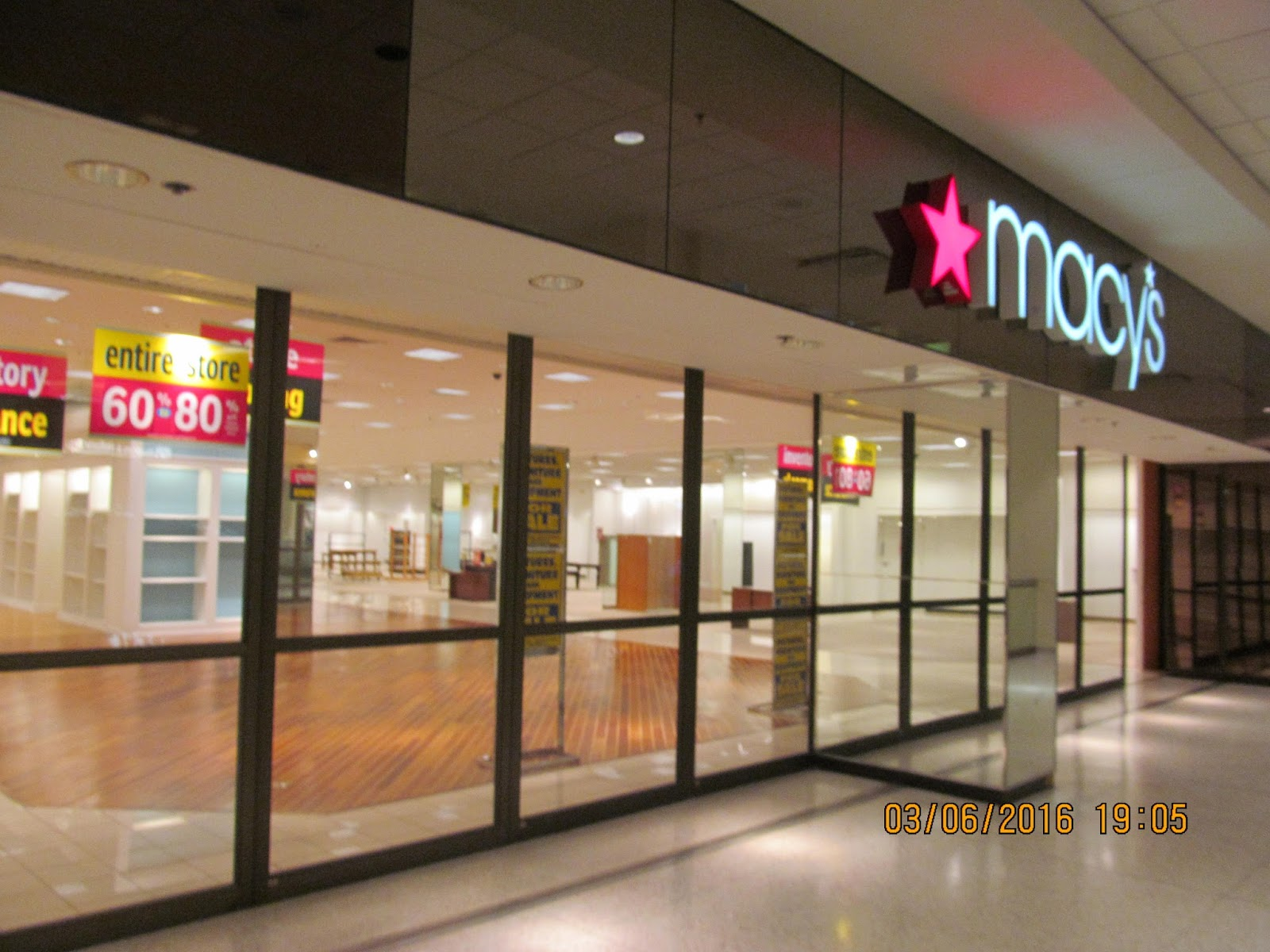 Trip To The Mall Macy S Closing At Northwoods Mall