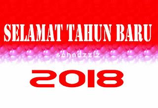 Gambar Kartu Ucapan Selamat Tahun Baru 2018