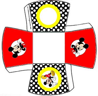 cajita abierta de Mickey Mouse