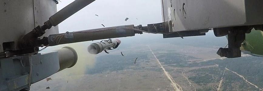 Черговий етап випробувань гелікоптерного протитанкового ракетного комплексу