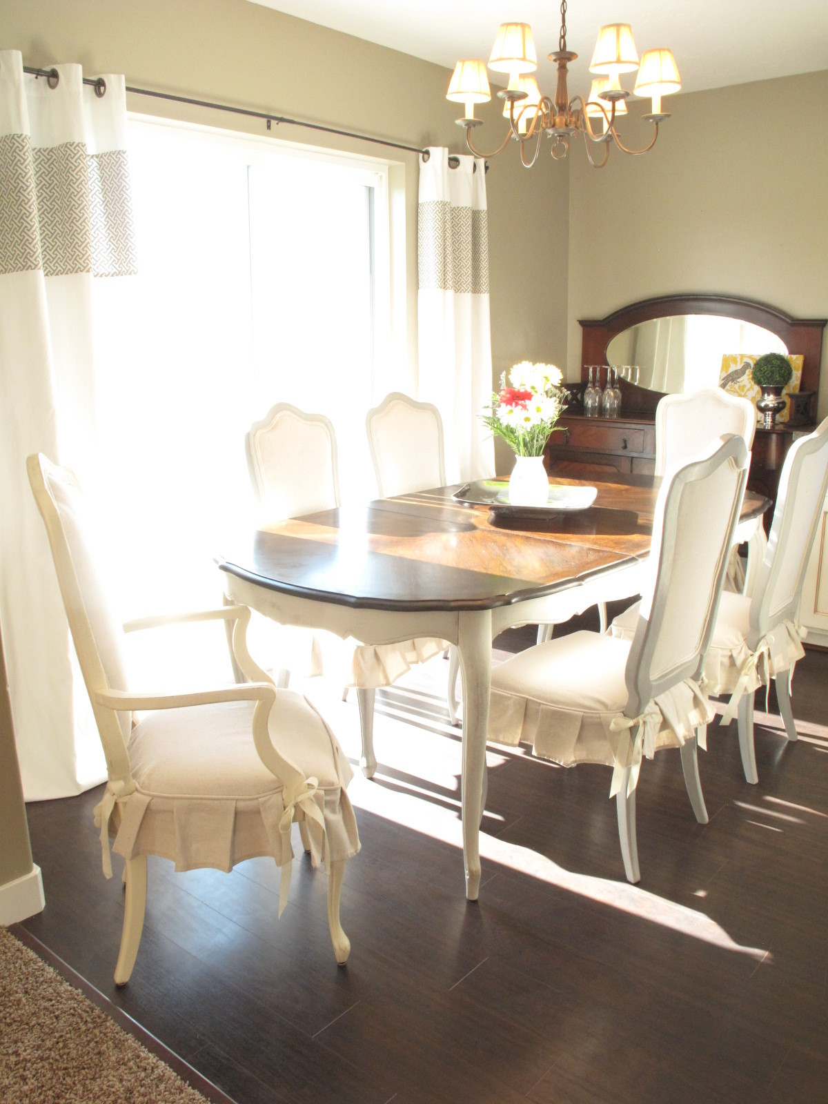 Chalk Paint Dining Room