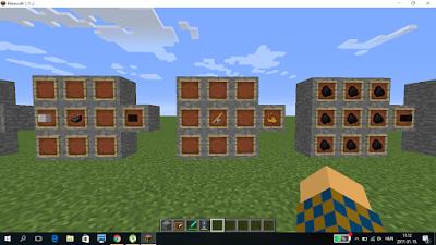 Minecraft crafting lángpor