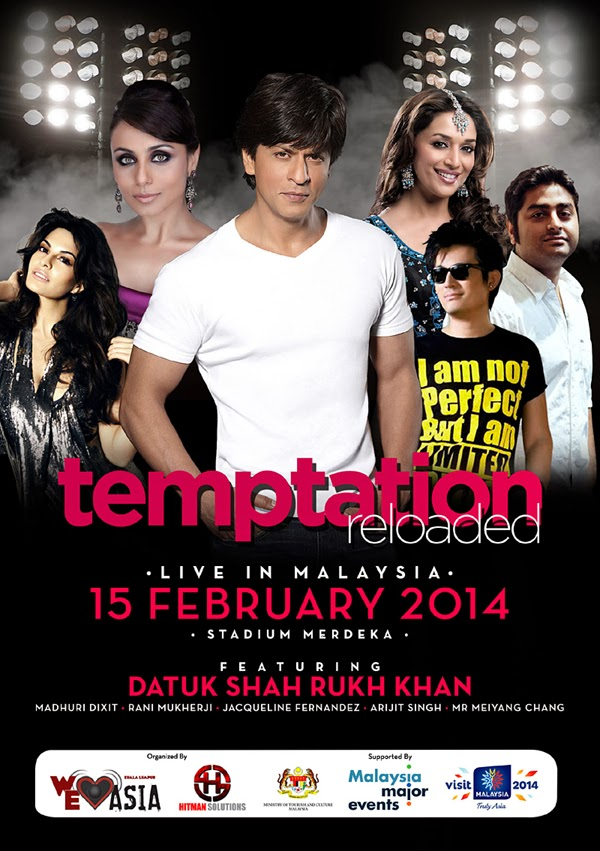 Temptation Reloaded Live in Malaysia