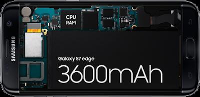 Kapsitas Baterai Samsung S7