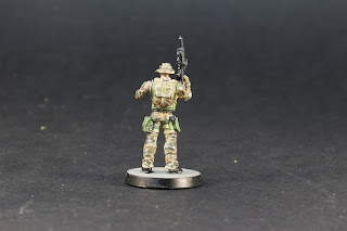 "Figurine 7th Foxtrot Rangers ""Newport"" Rifle."