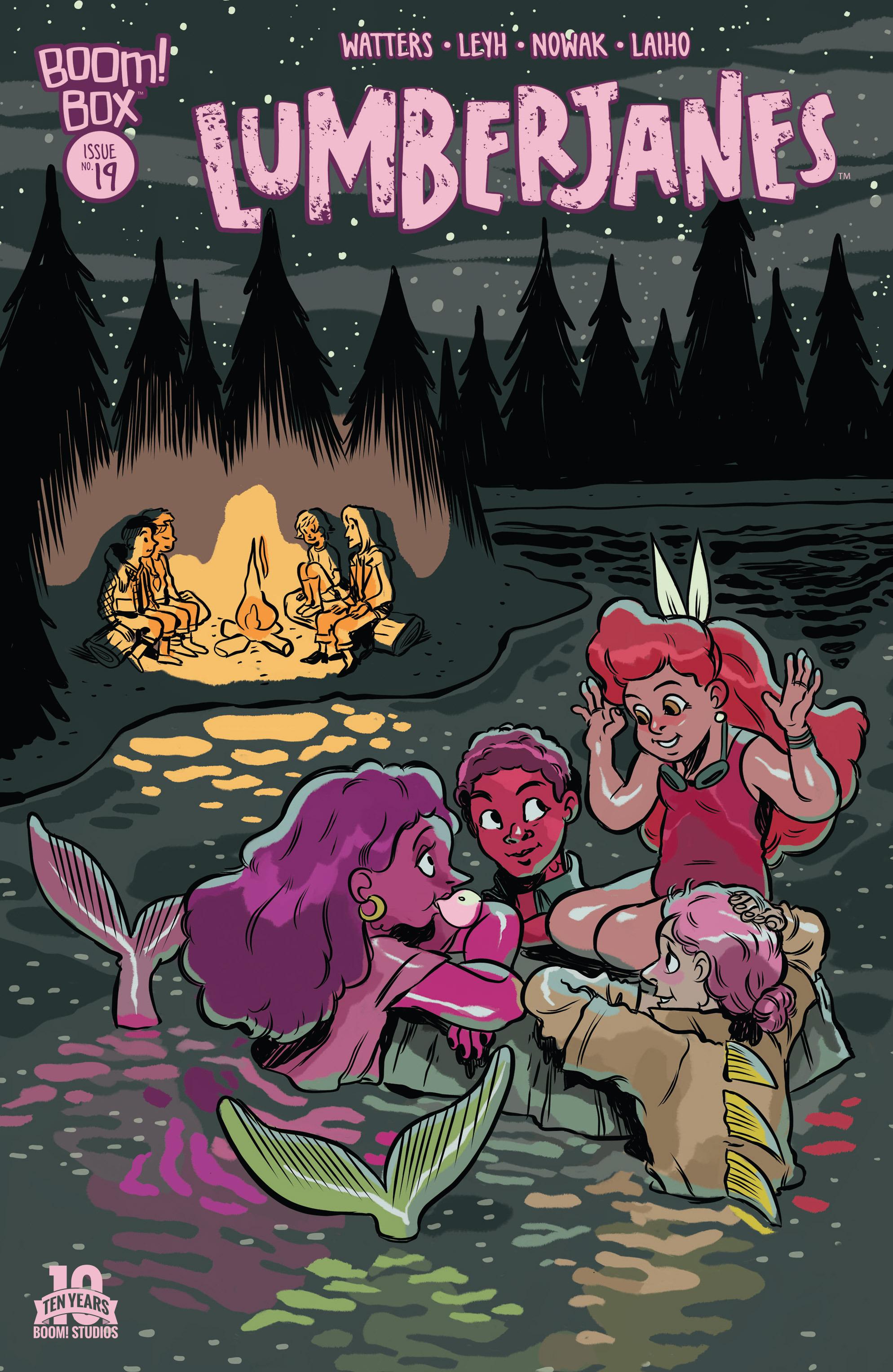 Lumberjanes 19 Page 1