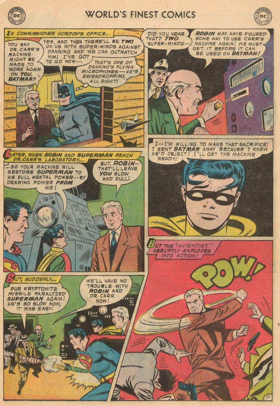 Read online World's Finest Comics comic -  Issue #93 - 13