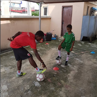 Timi Dakolo employs Football Trainer for his Son after getting to know about Neymar's new wage