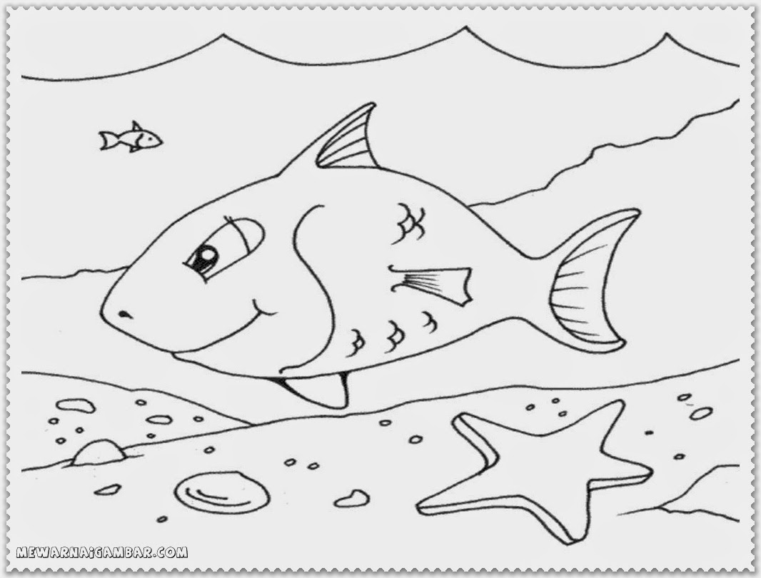 Arctic Fish Coloring Pages