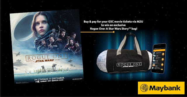 Maybank2u Free Star Wars Shoulder Bag