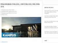 Pengumuman STAN 2016, Surabaya, Jakarta, Medan, dan kota-kota lainnya