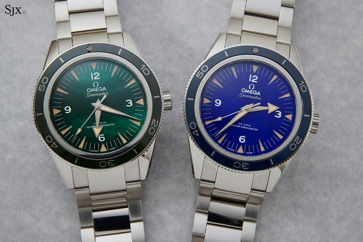 fac8967a9d00 The basic specifications and dimensions of the Seamaster 300 remain the  same here