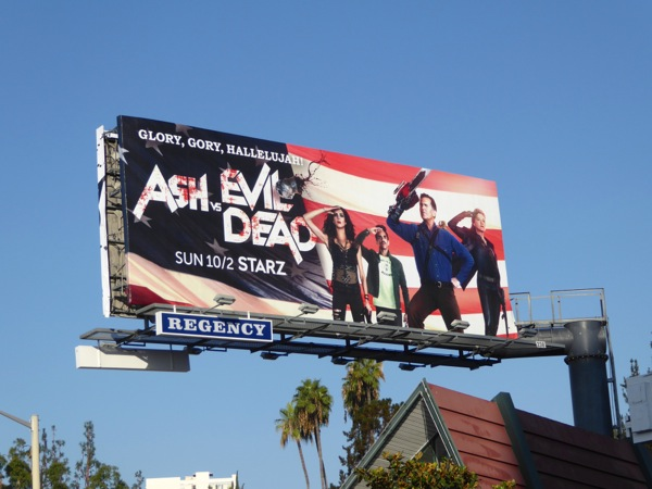 Ash vs Evil Dead season 2 billboard