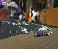 لعبة سباق سيارات Super Toy Cars مجانا