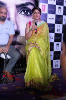 Bollywood Actress Raveena Tandon in Transparent Green Saree at Trailer Launch Of Film Maatr  0021.JPG